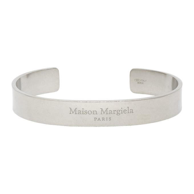 Photo: Maison Margiela Silver Logo Bracelet
