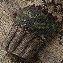 RRL - Shawl-Collar Intarsia Wool-Blend Cardigan - Green