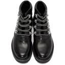 3.1 Phillip Lim Black Dylan Hiking Boots