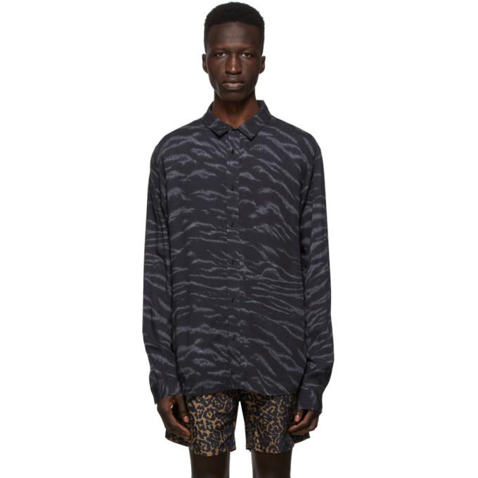 Ksubi Black Whip Shirt