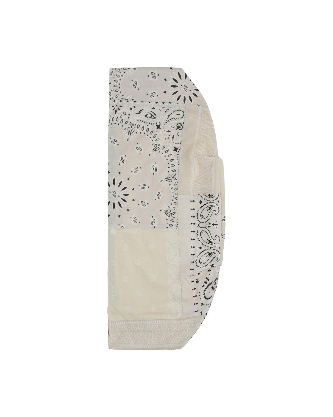 Kapital Gauze Bandana Beach Snuffkin Bag White