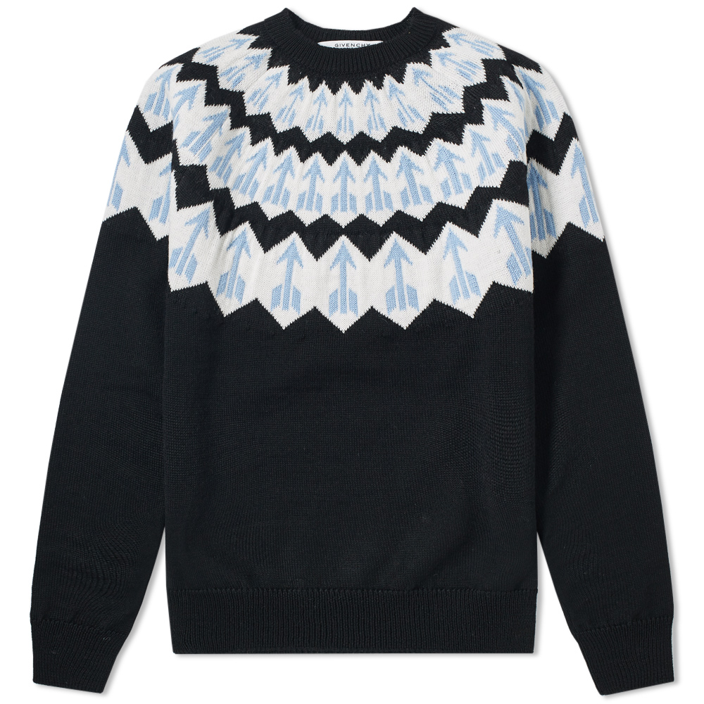 Photo: Givenchy Fair Isle Arrow Knit