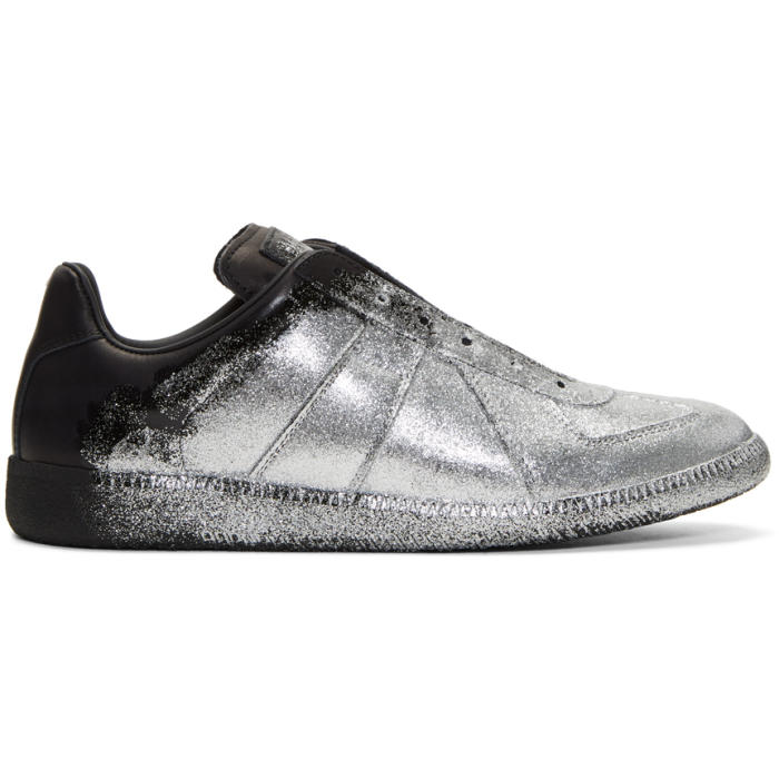 glitter maison margiela sneakers
