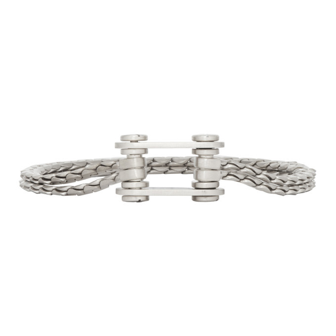 Photo: Jil Sander Silver Chain Link 1 Bracelet