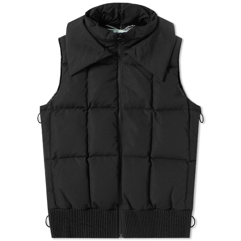 Photo: Off-White Firetape Puffer Vest