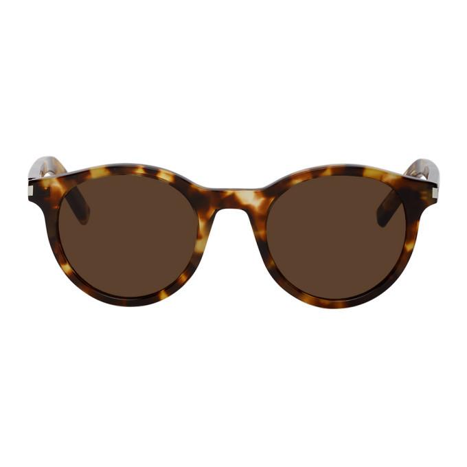 Photo: Saint Laurent Tortoiseshell SL 342 Sunglasses