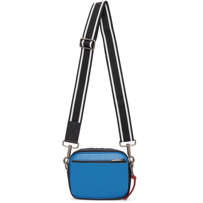 Photo: Givenchy Blue and White MC3 Crossbody Bag
