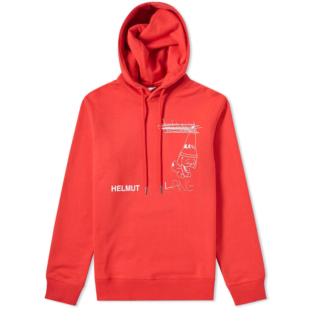 Photo: Helmut Lang Puppy Popover Hoody Red