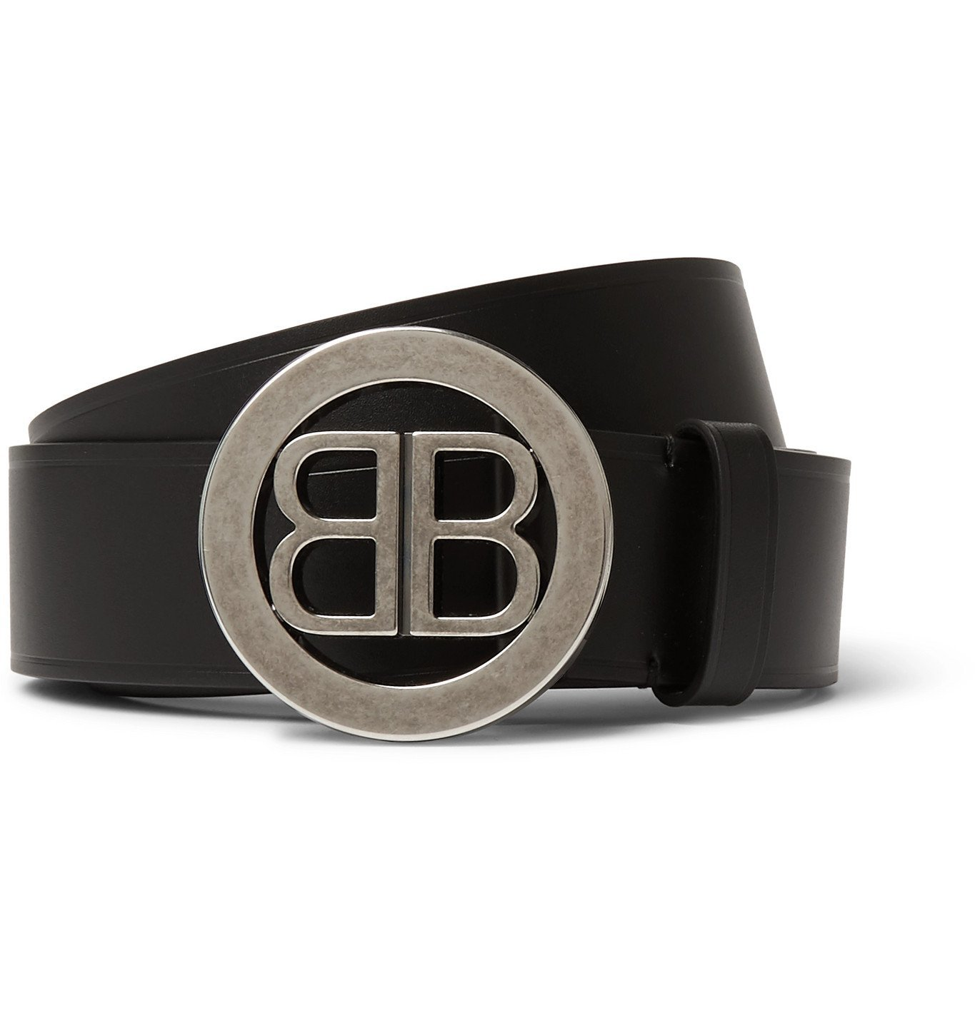 Photo: Balenciaga - Leather Belt - Black