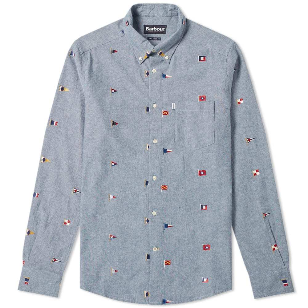 Photo: Barbour Chambray Flag Shirt