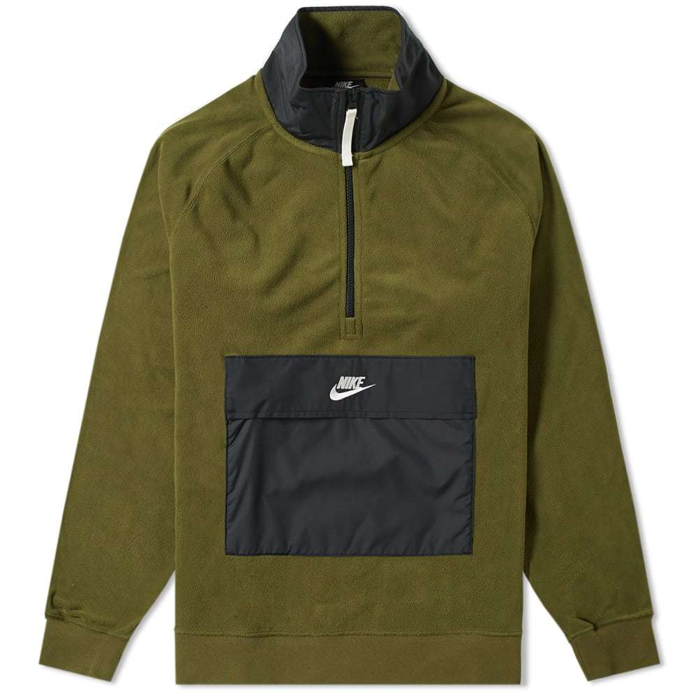 Photo: Nike Fleece Winter Half Zip Sweat