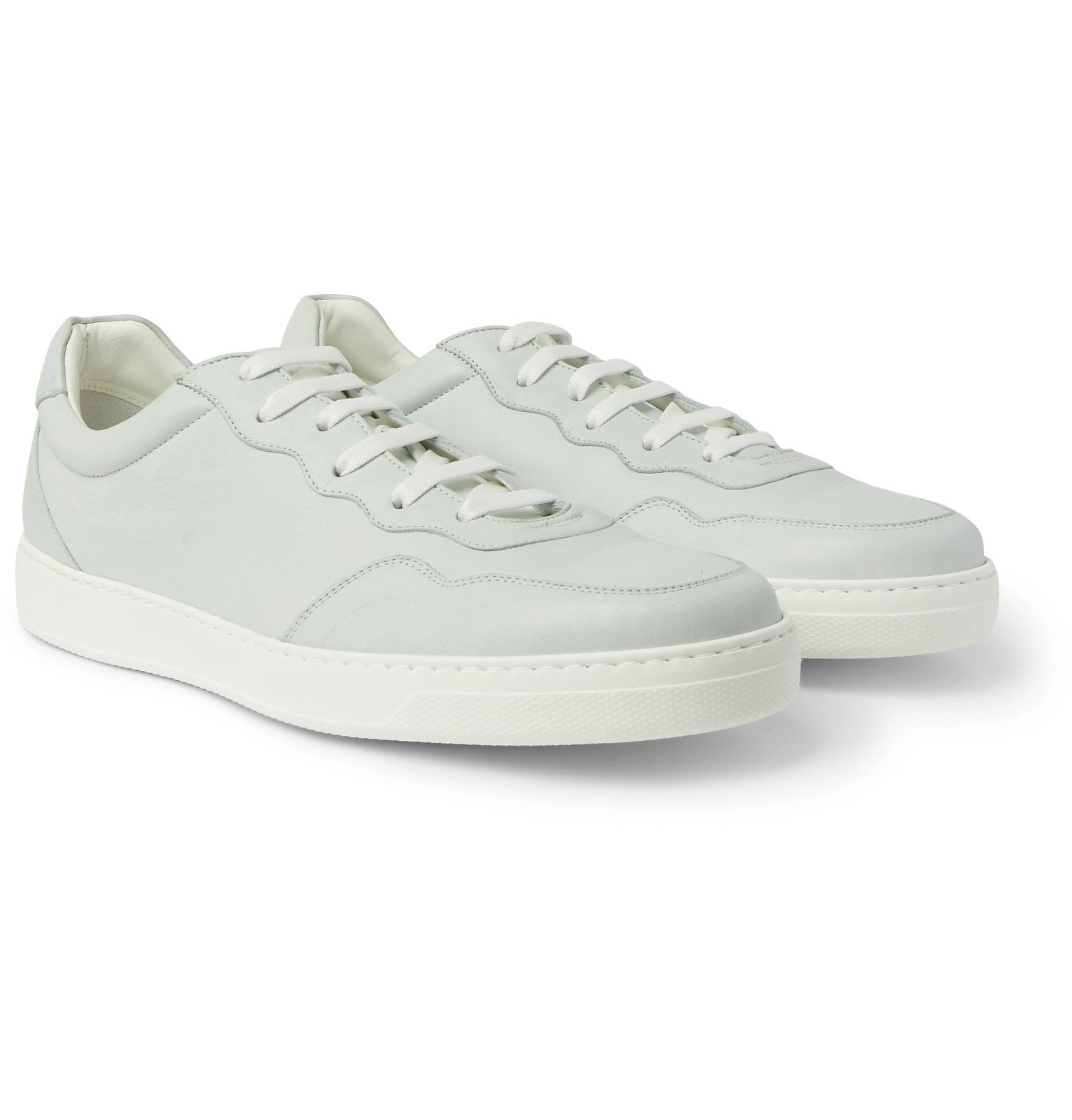 Photo: Paul Smith - Theo Leather Sneakers - Blue