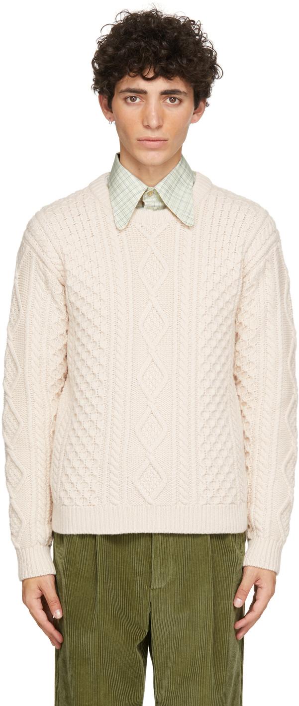 Photo: Gucci Beige Wool Knit Sweater
