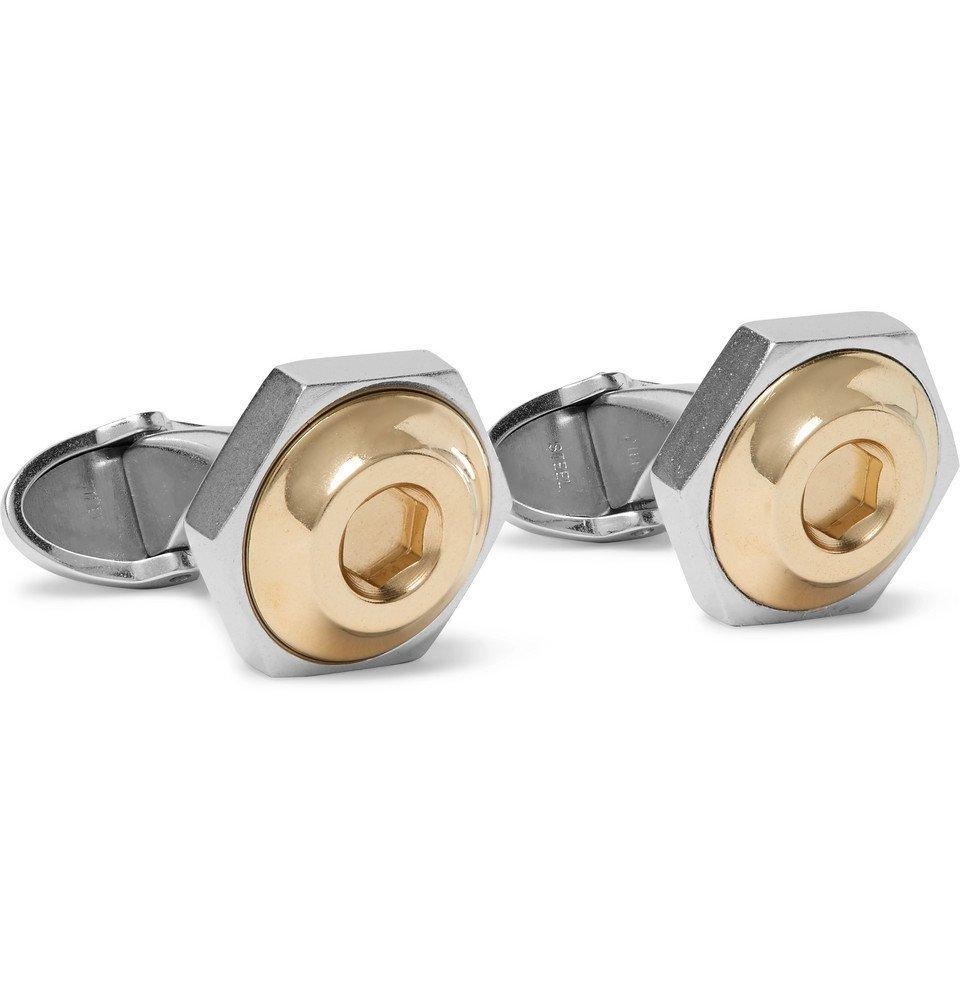 Dunhill - Hex Steel Cufflinks - Silver