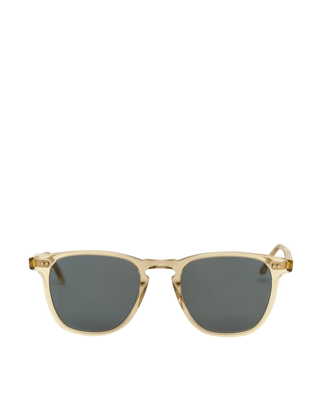 Photo: Garrett Leight Brooks Sunglasses Champagne/Semi Flat