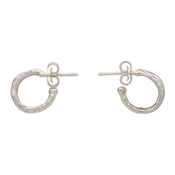 Alighieri Silver The Morning Hour Earrings