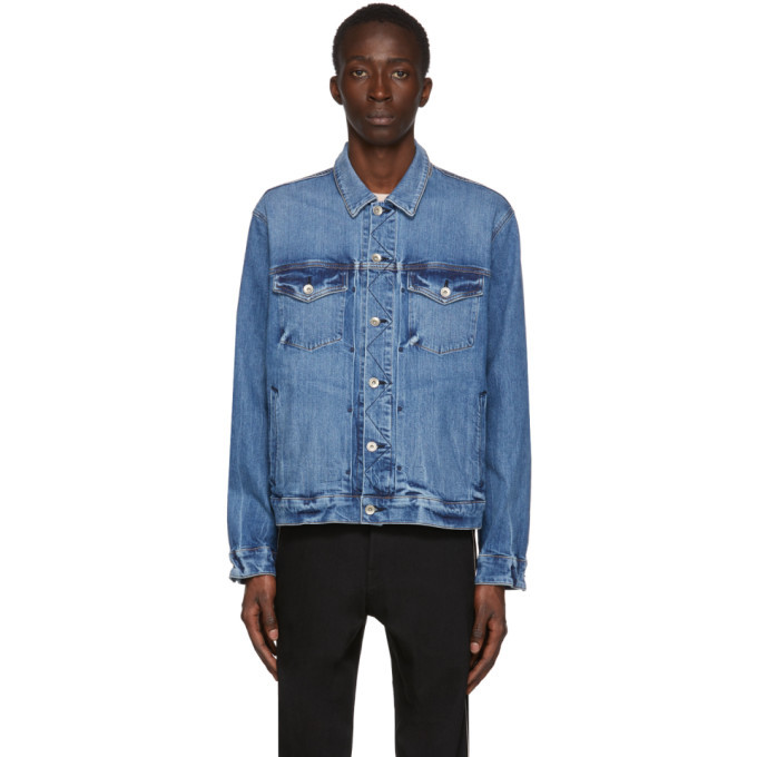 Photo: rag and bone Blue Denim Definitive Jacket