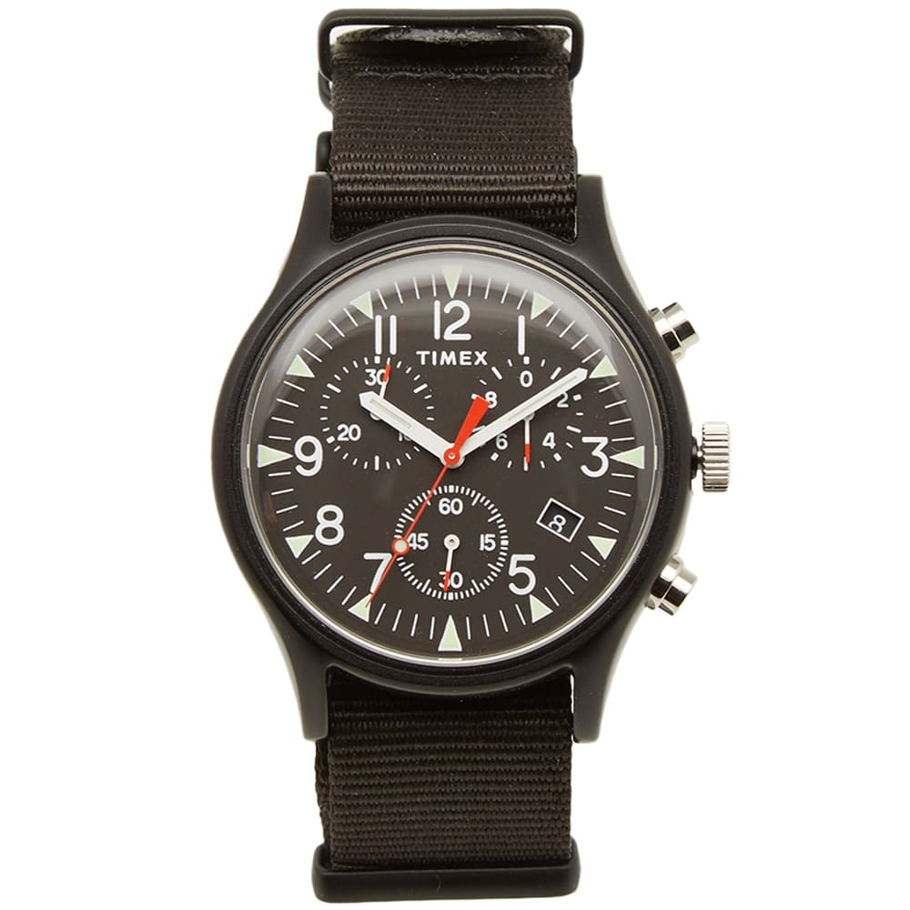 Photo: Timex MK1 Aluminium Chronograph Watch