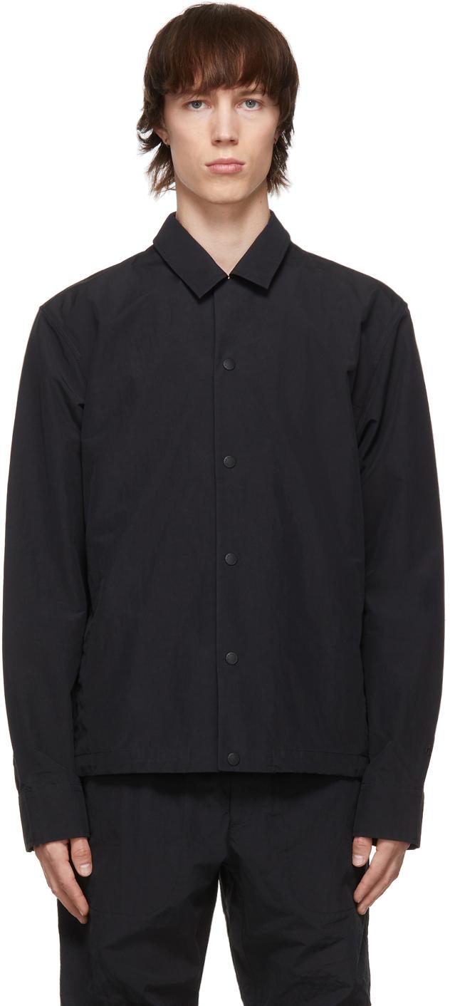 Photo: rag & bone Black Finlay Shirt Jacket