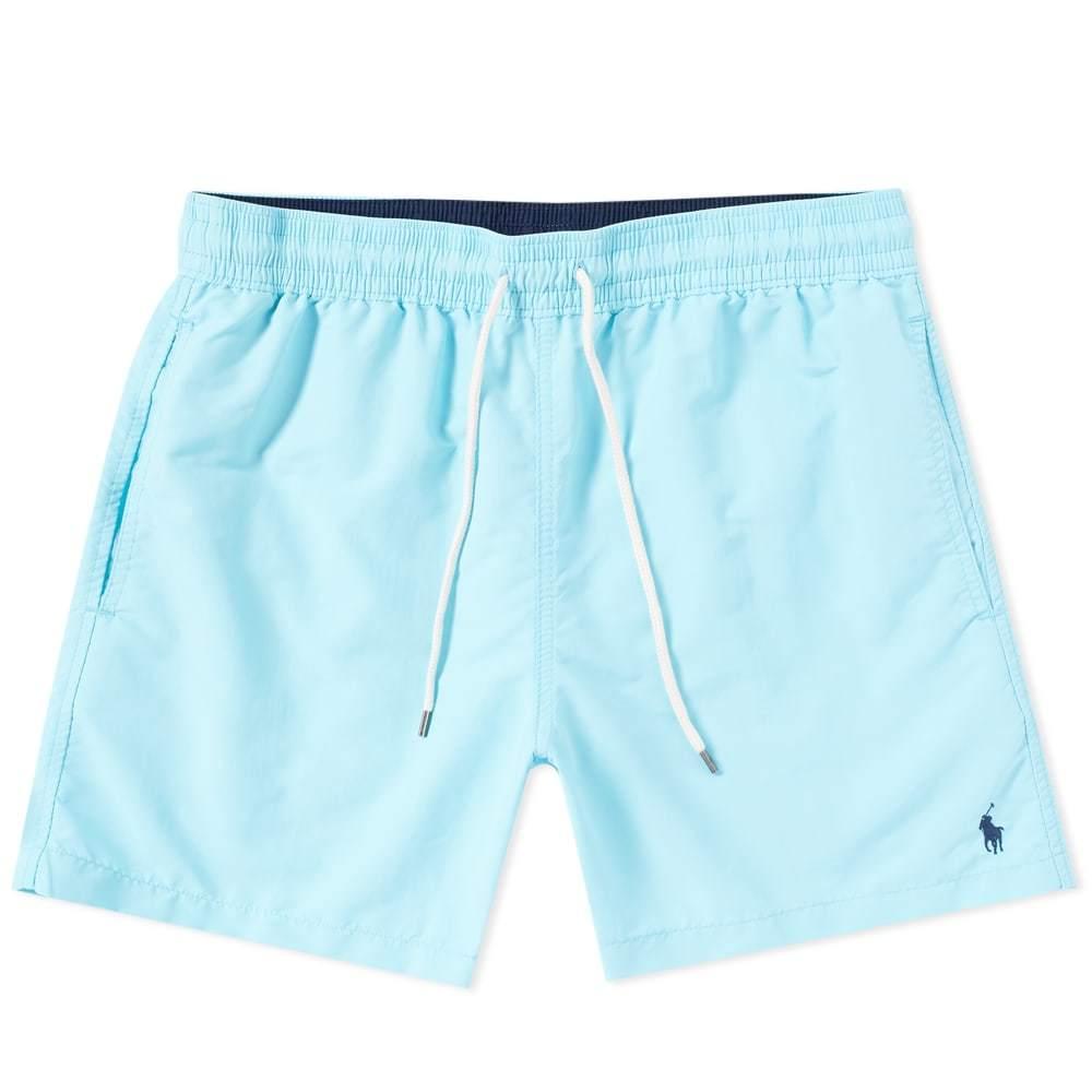 Photo: Polo Ralph Lauren Classic Traveller Swim Short Blue