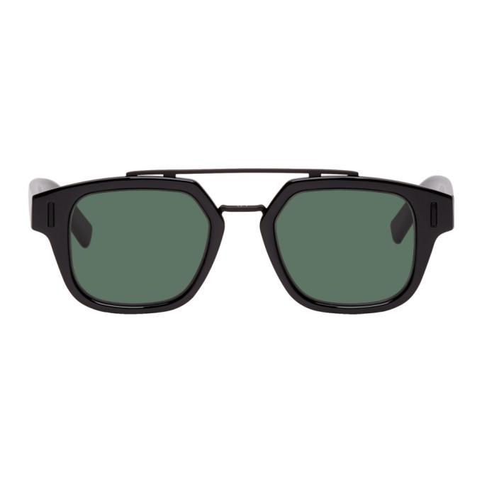 Photo: Dior Homme Black DiorFraction1 Sunglasses