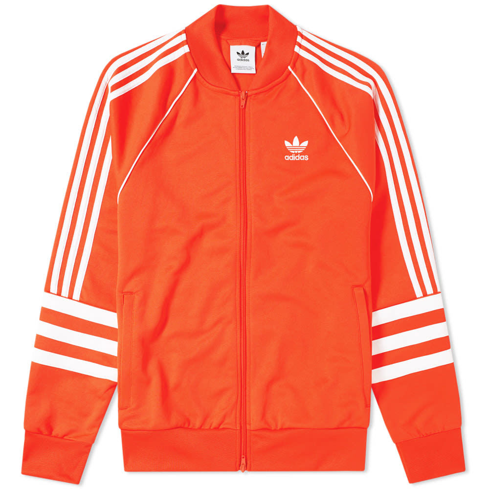 Photo: Adidas Authentic Track Top Red