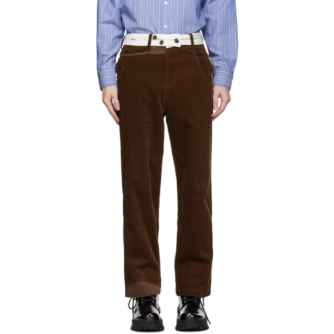 Photo: ADER error Brown Baus Trousers