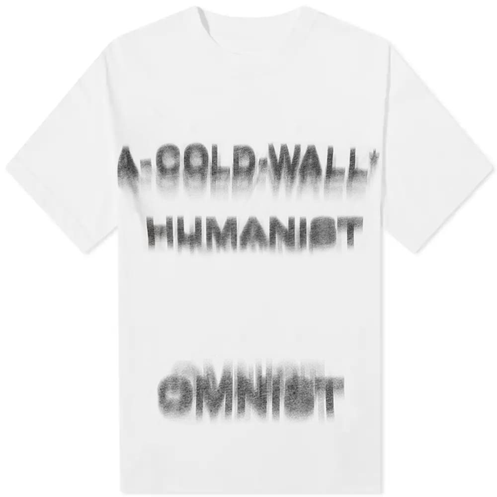 A-COLD-WALL* Rationale Short Sleeve Tee