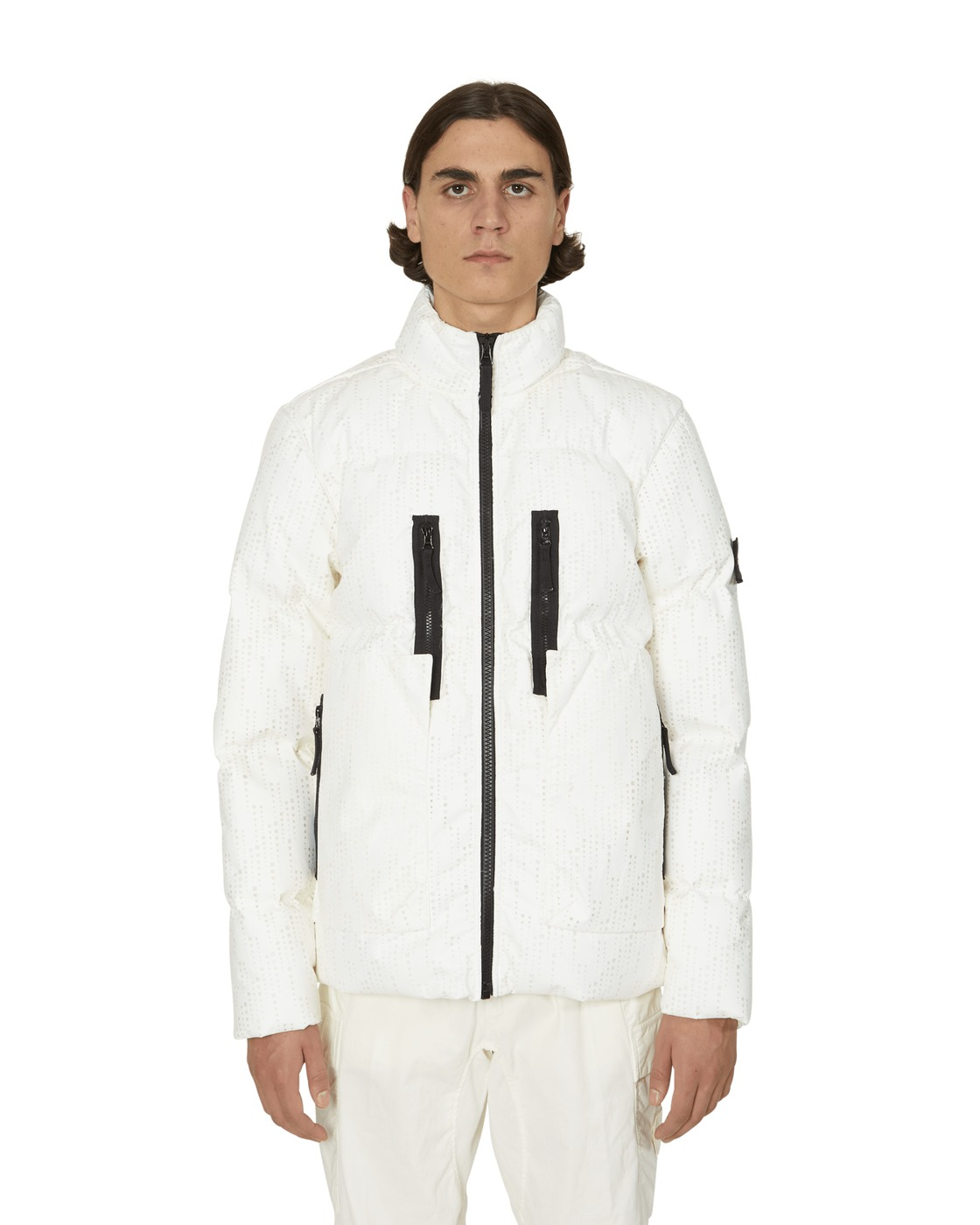 Photo: Stone Island Shadow Project Down Jacket Natural White