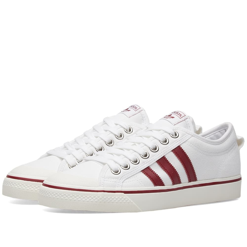Adidas Nizza White