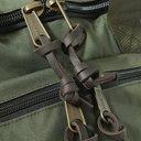 FILSON - Leather-Trimmed Nylon Duffle Bag - Green