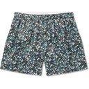 Sunspel - Printed Silk-Satin Boxer Shorts - Green