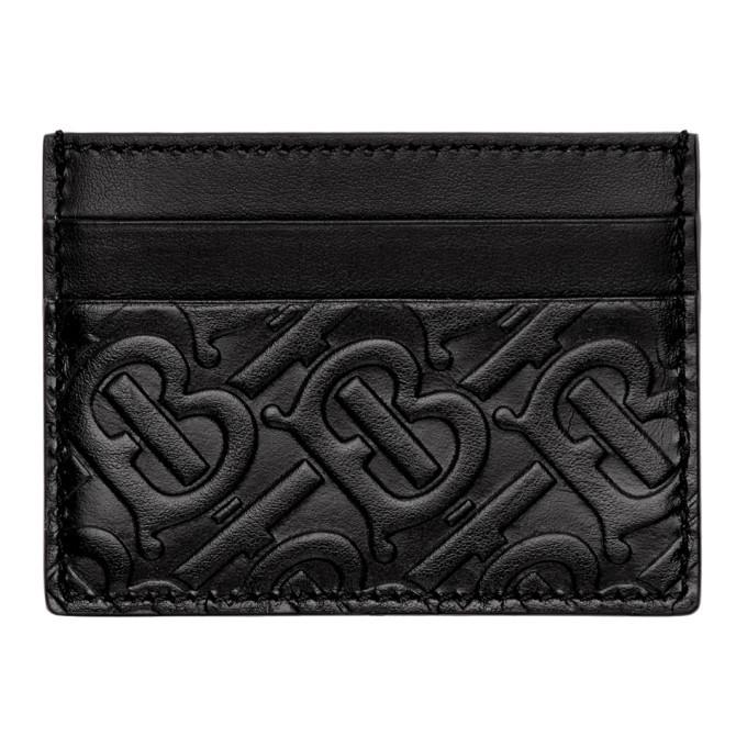 Photo: Burberry Black Monogram Sandon Card Holder