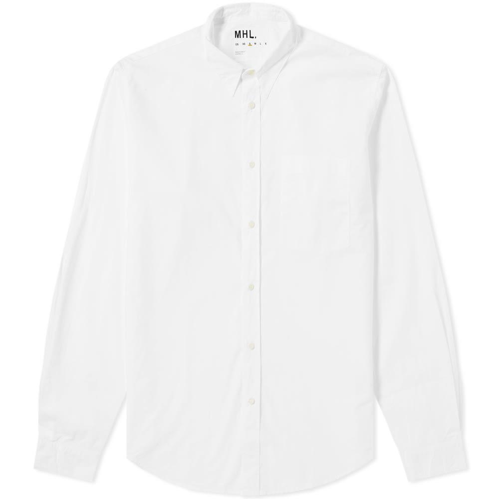 Photo: MHL by Margaret Howell Basic Shirt White