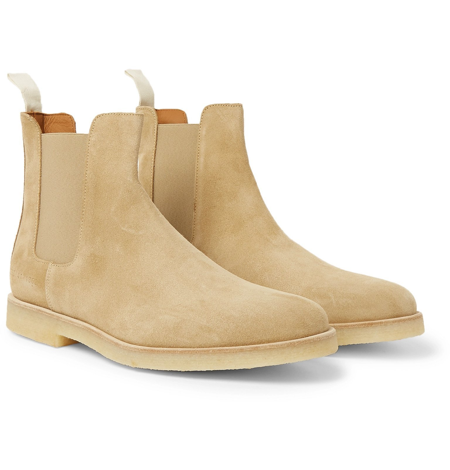 Photo: Common Projects - Suede Chelsea Boots - Neutrals