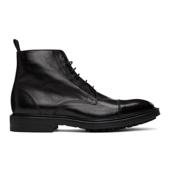 Photo: Paul Smith Black Cubitt Wingtip Boots