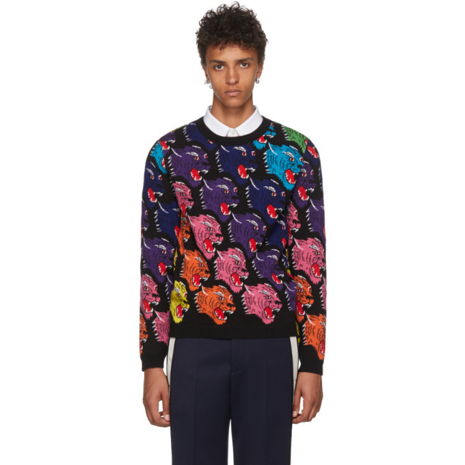 Photo: Gucci Black Panther Face Sweater