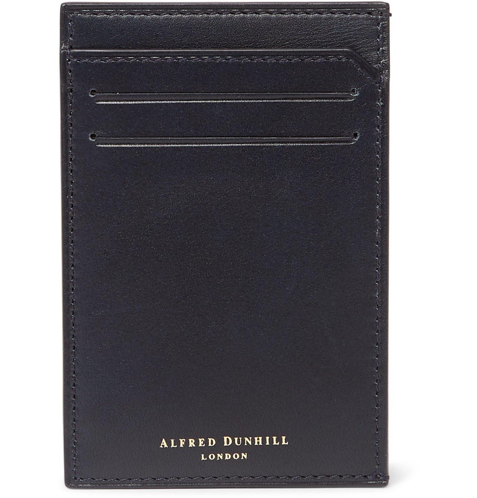 Dunhill - Leather Cardholder - Blue