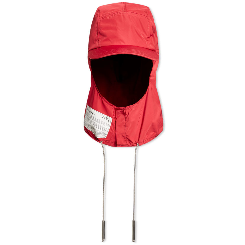 Photo: A-COLD-WALL* Nylon Storm Cap Red