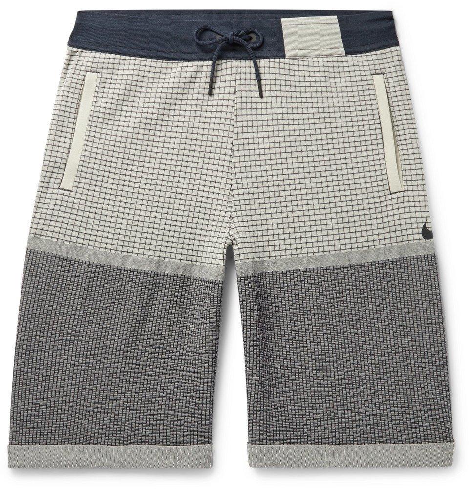 Photo: Nike - Sportswear Tech Pack Knitted Shorts - Beige