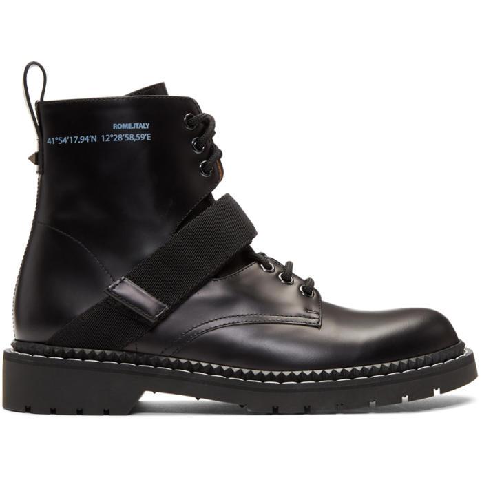 Photo: Valentino Black Valentino Garavani Always Coordinates Boots