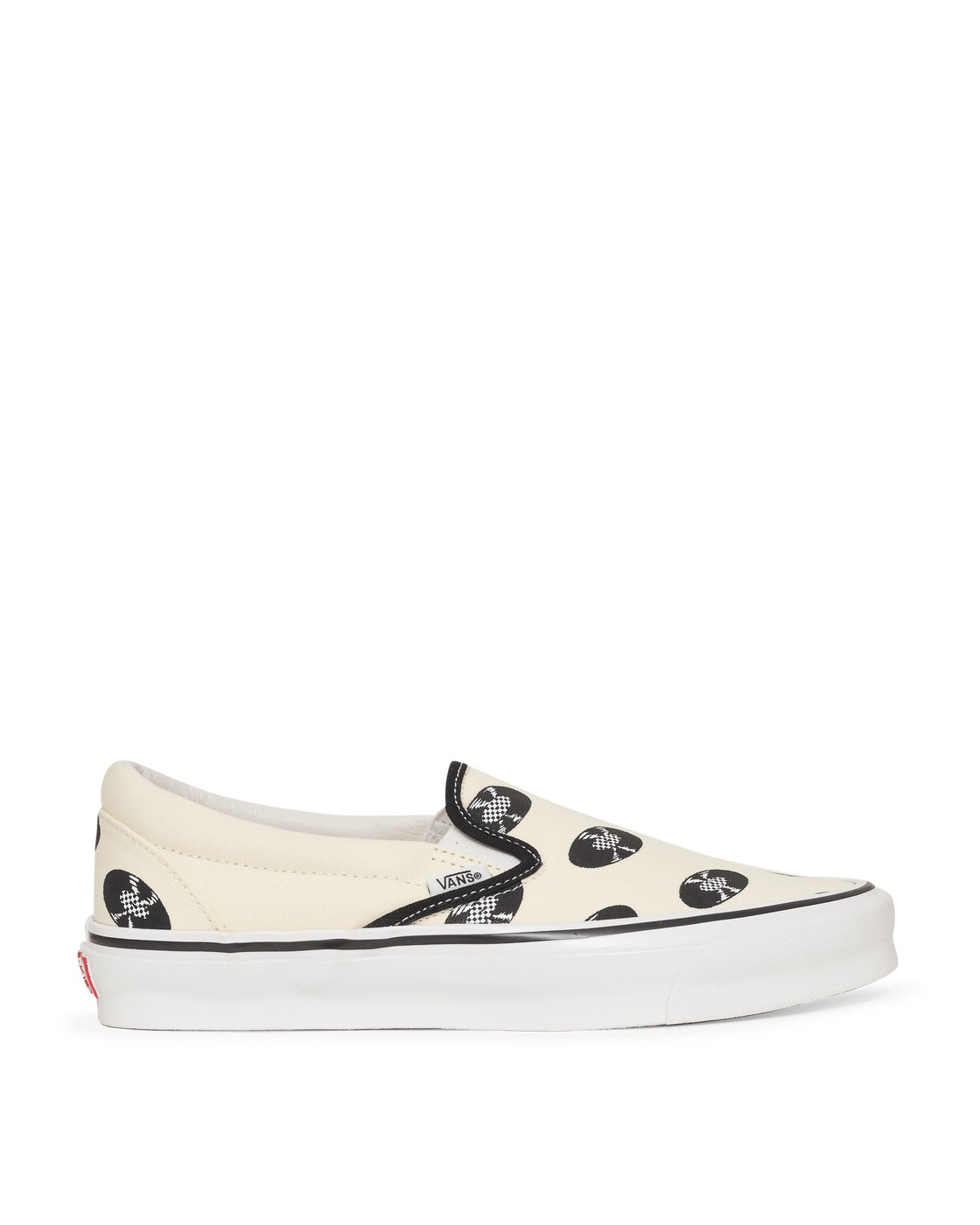 Photo: Vans Wacko Maria Og Classic Slip On Sneakers Clscwhtrcords