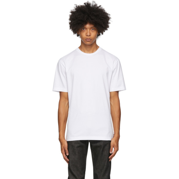 Photo: Acne Studios White Slim Fit T-Shirt