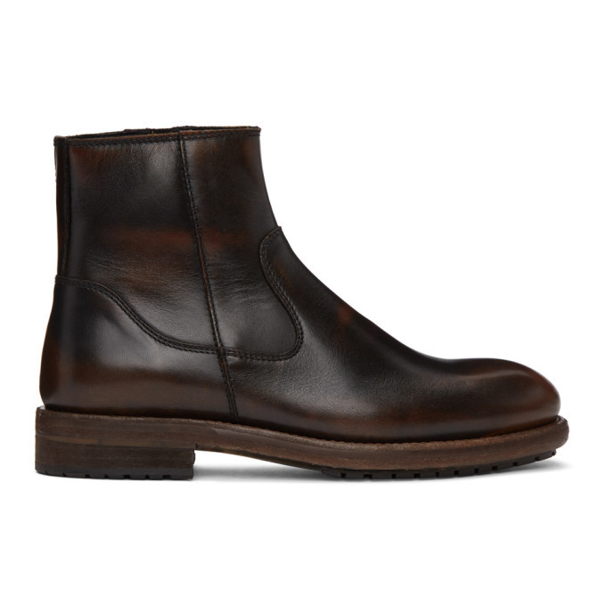 Photo: Belstaff Black Vintage Markham Boots