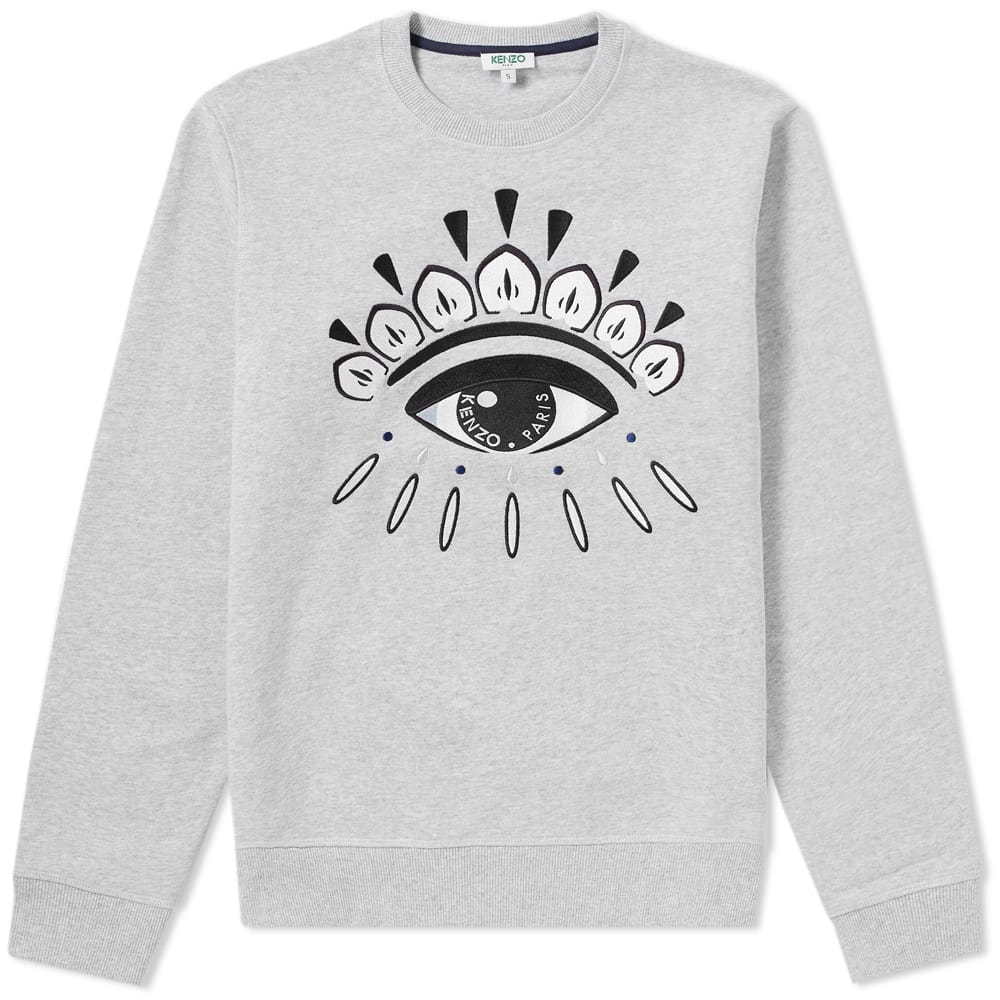 Photo: Kenzo Eye Embroidered Crew Sweat
