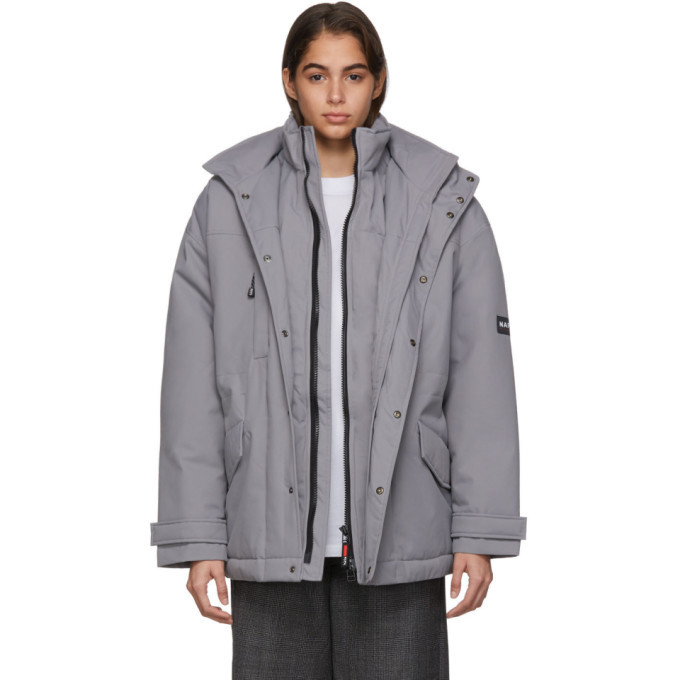 NAPA by Martine Rose Grey A-Andean Jacket
