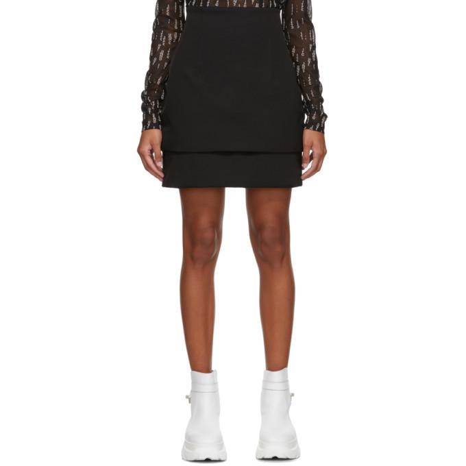 Photo: 032c Black Puffered Miniskirt
