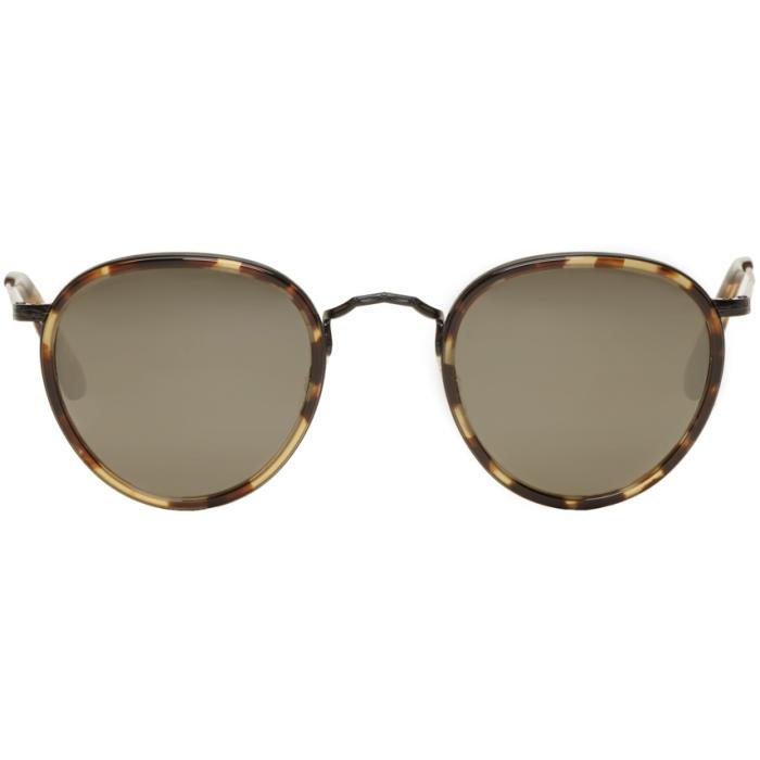 Oliver Peoples Tortoiseshell Vintage MP-2 Sunglasses