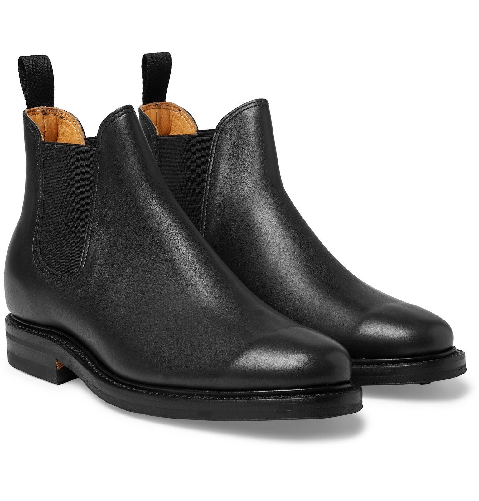 Photo: Viberg - Leather Chelsea Boots - Black