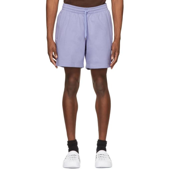 Photo: adidas Originals Purple Adicolor Premium Shorts
